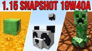 Minecraft 1.15 Snapshot 19w40a The Bees Holiday Update!