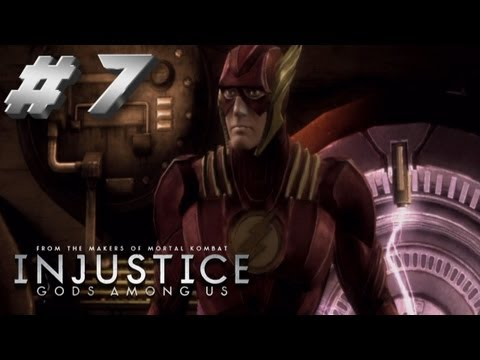kNIGHTWING01 - Injustice Walkthrough Part 7. The Flash (Barry Allen) leaves Superman's ranks & joins Batman's fight to free the world. Wonder Woman is sent by Are's to prev...