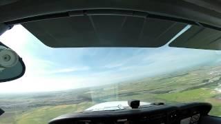Okotoks (AB) Canada  city photos gallery : PILOT PoV - Cessna 172 landing at Okotoks, Alberta, Canada - CFX2