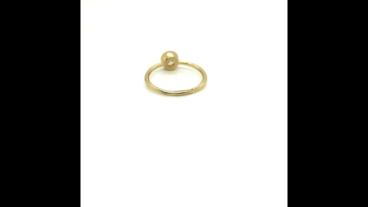 Hope Round Diamond Engagement Ring