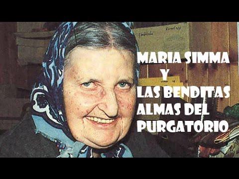 Maria Simma y las Benditas almas del purgatorio (AUDIO VIDEO)