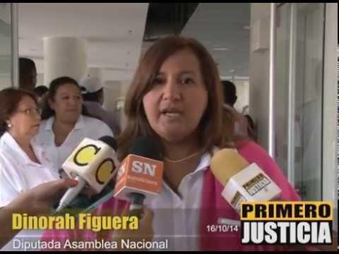 Dinorah Figuera solicitará ante el parlamento que se invierta dinero para prevenir el cáncer de mama