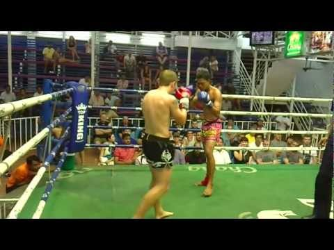 Andy from Scotland makes his Pro Muay Thai debut representing Phuket Top Team