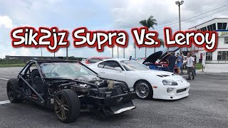 Sik2jz and Cleetus's Leroy line it up in preparation for FL2K17 roll racing! FL2K is October 6-8.***Social MediaInstagram: https://www.instagram.com/sik2jzFacebook: https://www.facebook.com/sik2jz