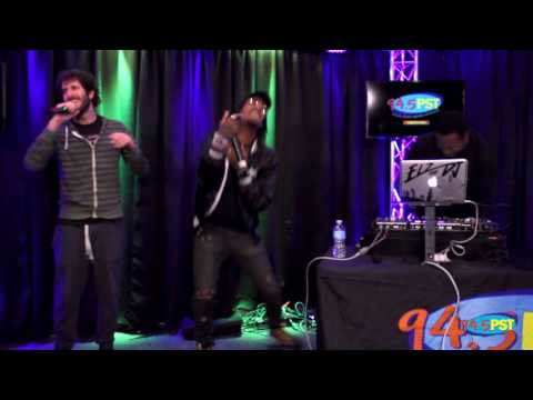 "Lil Dicky performs ""Molly"" in the PST Live Lounge"