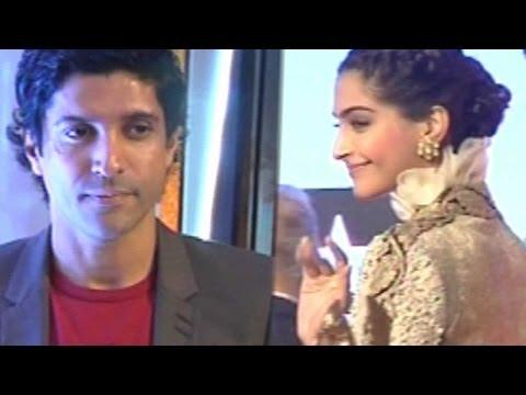 Sonam Kapoor And Farhan Akhtar At FICCI Frames