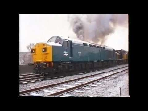Cold Start Diesel Locomotive No. 40135 on The East Lancashire Railway December 2001