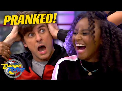 Captain Man Gets Pranked! 'Thousand Prank Wars Part 1' | Danger Force
