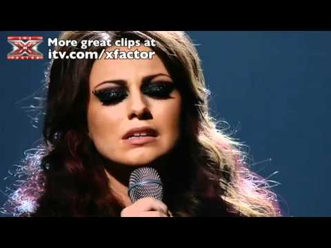 Cher Lloyd sings Stay – The X Factor Live show 4 – itv.com/xfactor