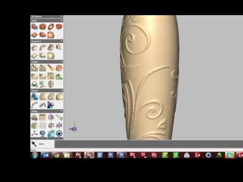 How To - Making beautiful product designs with 3D Emboss tools in Geomagic Sculpt
