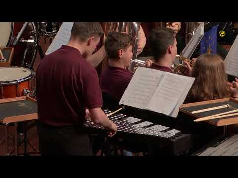 Catch Basin Brass Band Fire in the Blood Winning Performance EYBBC 2019 Montreux