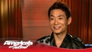Kenichi Ebina Interview - America's Got Talent 2013
