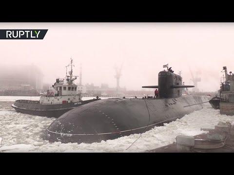 Атомная подлодка спецназначения «Подмосковье» передана ВМФ России после модернизации (видео)