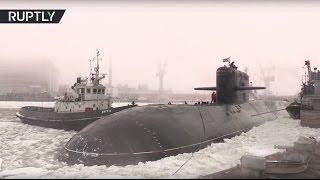 Атомная подлодка спецназначения «Подмосковье» передана ВМФ России после модернизации