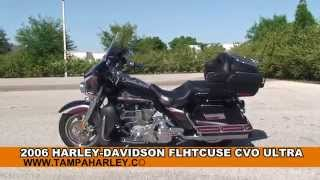 8. Used 2006 Harley Davidson CVO Ultra Classic Electra Glide Motorcycles - Harley Sound