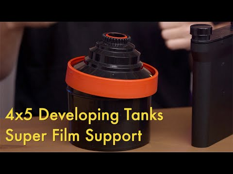 4x5 Developing Tanks || Super Film Support