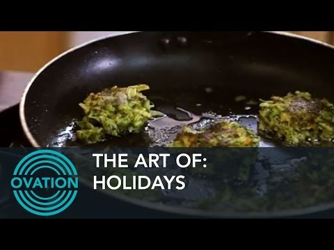 Holidays - How To Make Broccoli Cheddar Latkes