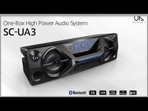 Panasonic Audio SC-UA3 One Box High Power Audio System