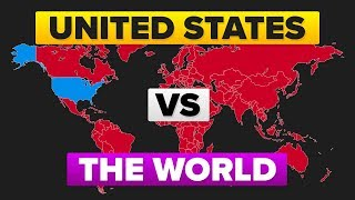 Video The United States (USA) vs The World - Who Would Win? Military / Army Comparison MP3, 3GP, MP4, WEBM, AVI, FLV September 2018
