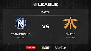 EnVyUs vs fnatic, game 1