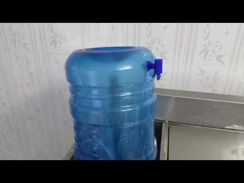 Clip Máy rửa bình 2 ngăn có ngăn súc hóa chất