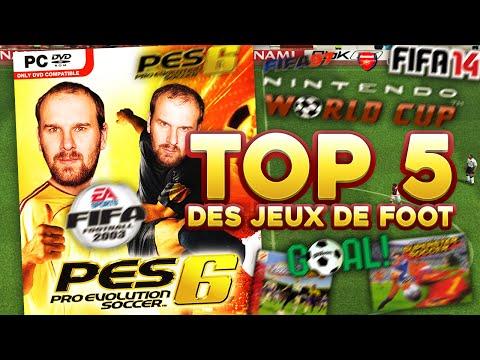 TOP 5 DES MEILLEURS JEUX DE FOOT ALL TIME !!