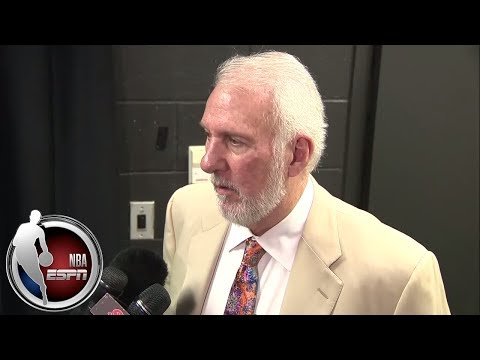 Video: Gregg Popovich: Spurs' communication improving after win vs. Lakers | NBA on ESPN