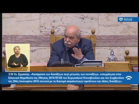 Κ.Μητσοτάκης (Πρόεδρος ΝΔ)(Δευτερ)(Κατάργηση των διατάξεων περί μείωσης των συντάξεων)(11/12/2018)