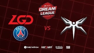PSG.LGD vs Mineski, DreamLeague Season 11 Major, bo3,game 1 [Santa & Jam]