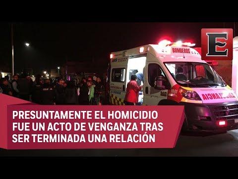 Indignación tras homicidio de familia en Tecámac