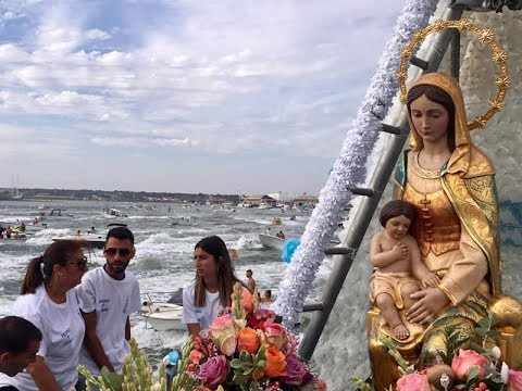 Procesión Ntra. Sra. del Mar 2019 (Punta del Caimán) .