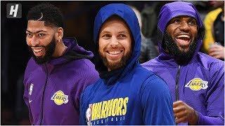 Golden State Warriors vs Los Angeles Lakers - Full Game Highlights   October 14, 2019 NBA Preseason