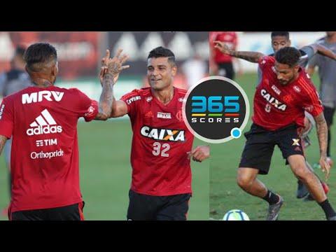 Guerrero e outros arrebentam em Jogo Treino! Despedida de Júlio César! Copa do Brasil!