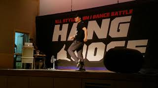 Popbong – Hang Loose 1 vs 1 freestyle battle judge show