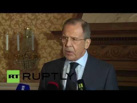 Пресс-подход Сергея Лаврова по итогам сессии Совета ООН по правам человека