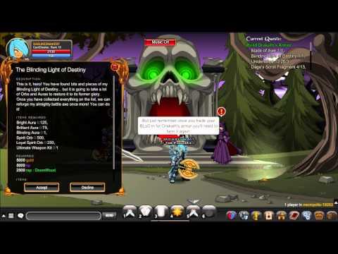 AQW Drakath Armor Quest Full Tutorial