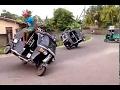 3 Wheel Stunt In Sri Lanka