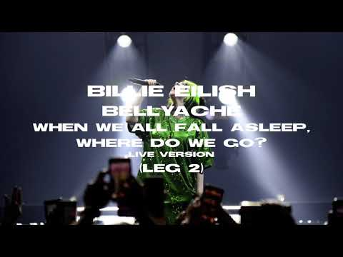 Billie Eilish - Bellyache (Where Do We Go? Tour Version) [Leg 2]