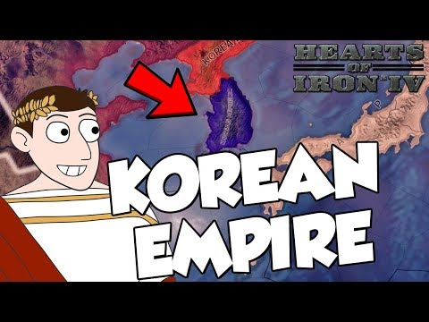 Trying To Create Korean Empire on Hearts of Iron 4 HOI4 Modern Day Mod (видео)