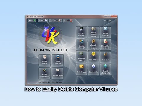 how to eliminate a virus from a computer