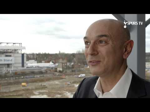 Video: Daniel Levy looking forward to Wembley   League Cup Final - Chelsea v Tottenham