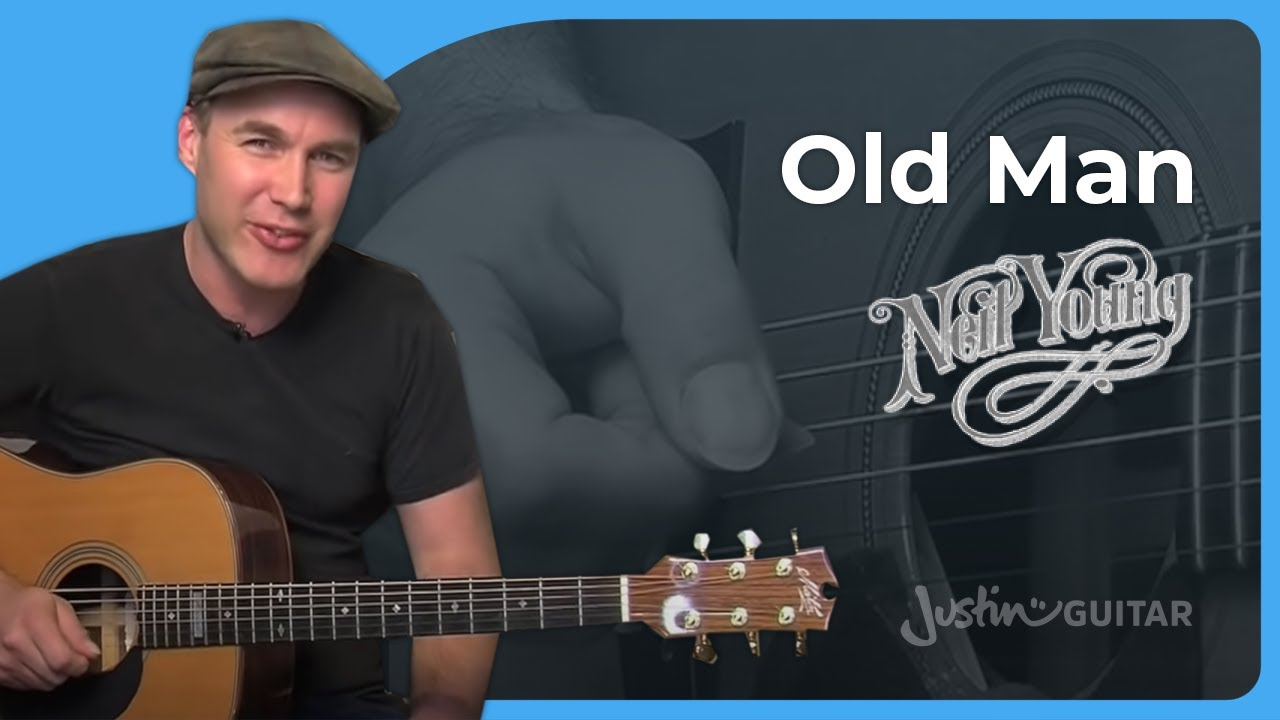 Old Man – Neil Young – Acoustic Guitar Lesson (ST-905) How to play