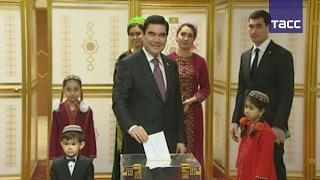 Гурбангулы Бердымухамедов победил на выборах президента Туркмении