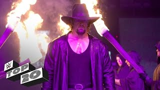 Video The Undertaker's 20 greatest moments - WWE Top 10 Special Edition MP3, 3GP, MP4, WEBM, AVI, FLV Juni 2018