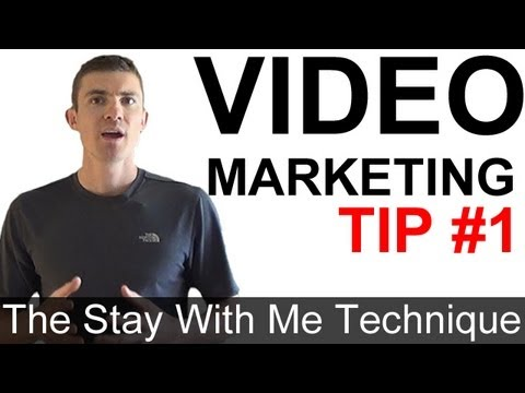 Video Marketing Tip #1 - How To Keep Your Visitors On ONLY Your Videos (Stay With Me Technique)
