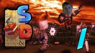 Minecraft: Search&Destroy w/Mitch! Game 1 - Epic New Mini-Game!