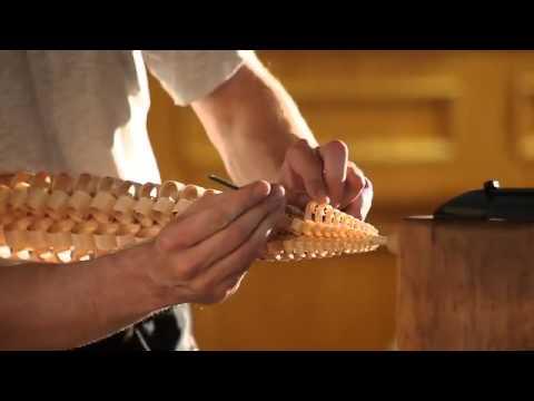 Изготовления деревянных елочек от немецкого столяр