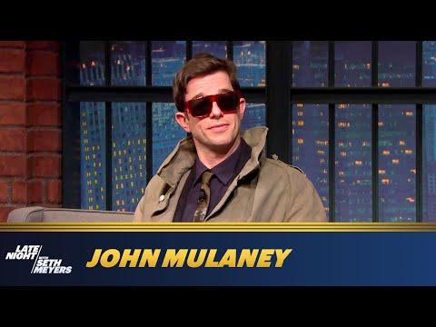 John Mulaney Asks Seth Meyers Some Hard-Hitting Questions