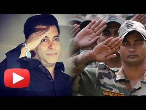 Salman Khan EMOTIONAL Message To Indian Army Soldi