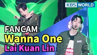 [FOCUSED] Wanna One's Lai Kuan Lin - Boomerang [Music Bank / 2018.04.06]